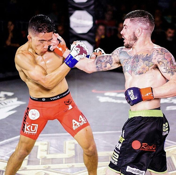 Ryan Lilley uses new lease on life to march forward in MMA