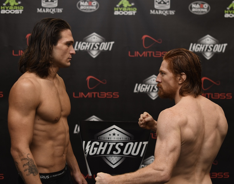 Hunter Carlyle (7-1) — 160 vs. Jean-Paul Bosnoyan (2-0) — 159.4