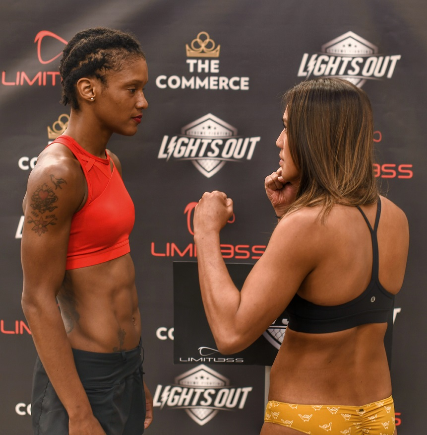 Tiani Valle (3-1) ; 124.8 vs. Brittney Cloudy (0-1) ; 124.4